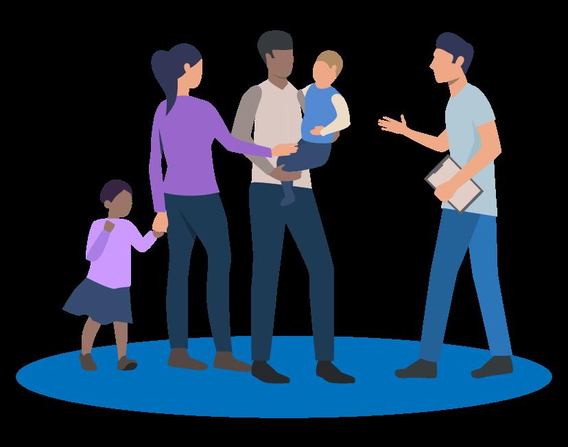 Ilustração do Curso PAEFI na Prática - Serviço de Proteção e Atendimento Especializado a Famílias e Indivíduos (PAEFI)